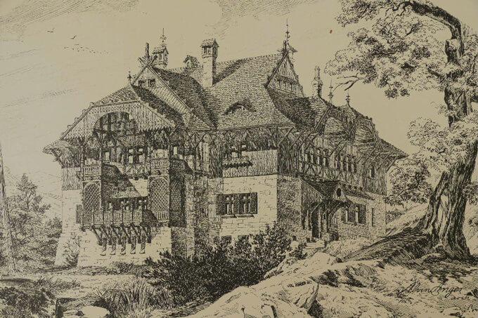 Villa Dürfeld in Einsiedel bei Chemnitz (1890)